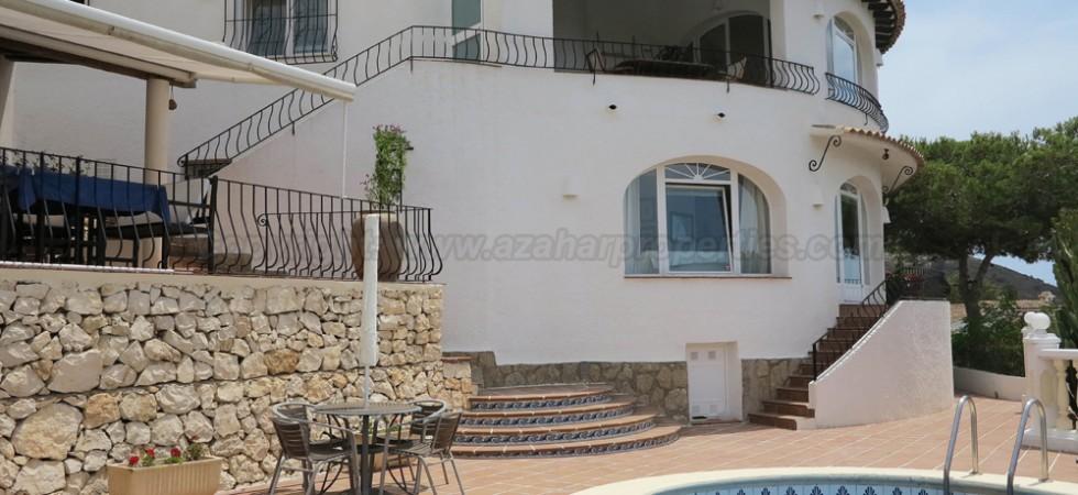 Sea view villa for sale Moraira Alicante – Ref: 015577