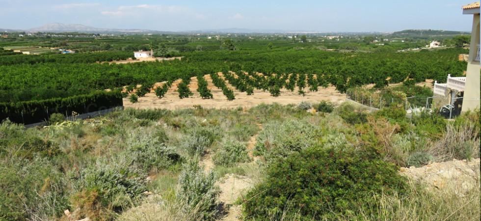 Building plot for sale in Alberic Valencia – Ref: 015601