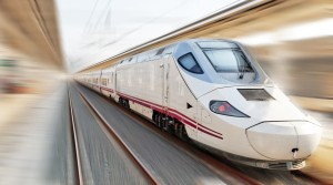 High Speed AVE Train In Spain