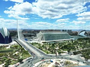 Views from Vertical Restaurant Valencia