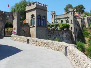 Xativa Castle Entrance