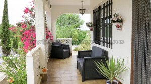 Covered terrace - 32m²