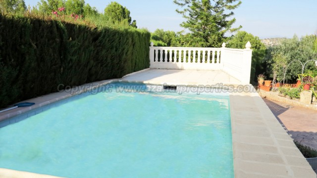 6m x 4m swimming pool