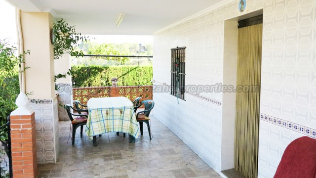 Covered terrace - 33m²