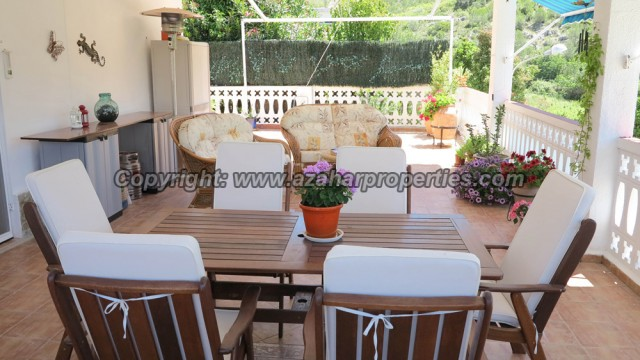 Covered terrace - 45m²