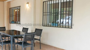 Covered terrace - 30m²