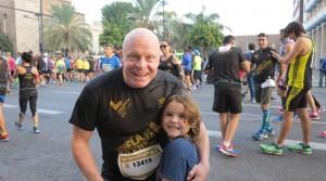 Simon Ran The Half Marathon Valencia