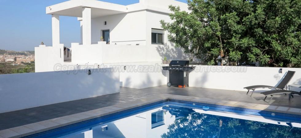 Modern villa for sale Monserrat Valencia – Ref: 016655
