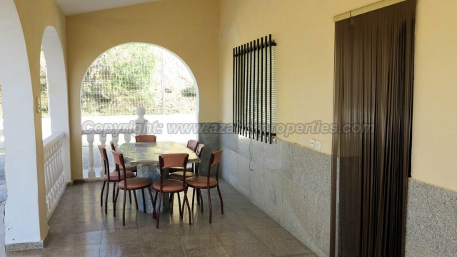 Covered terrace - 24m²