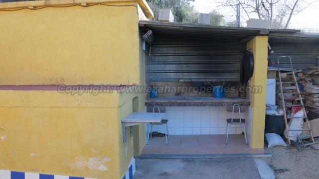 Barbecue area - 4m²