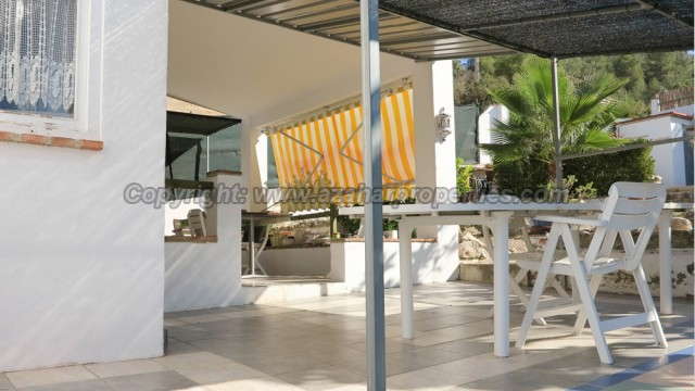 Covered terrace - 18m²