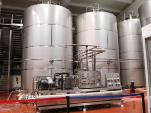 Contemporary wine making