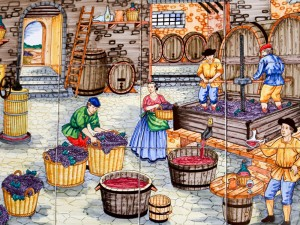 Traditional wine making