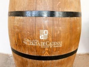Hoya de Cadenas french oak cask