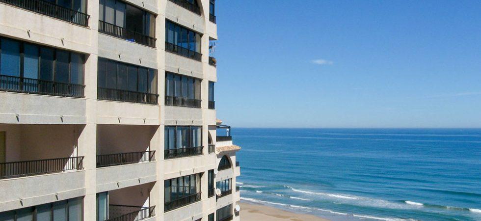 Sea view apartment for sale Cullera Valencia – Ref: 017723