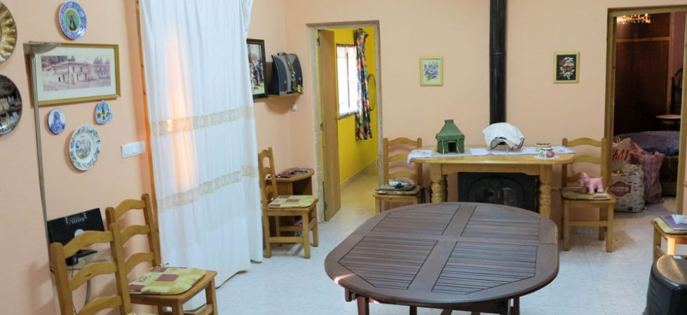 Lounge/dining room - 24m²