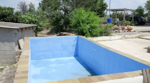 5m x 3m swimming pool