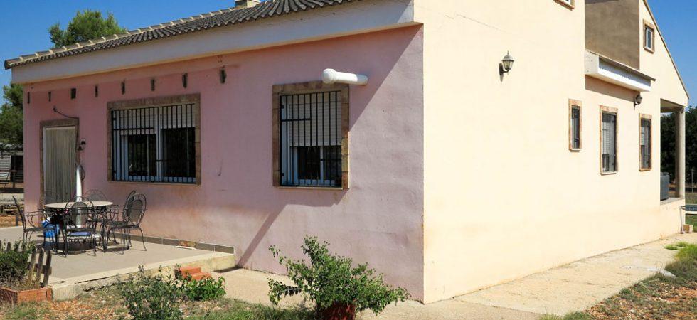 Front entrance terrace - 21m²
