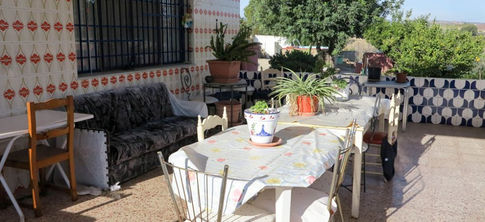Covered terrace - 34m²