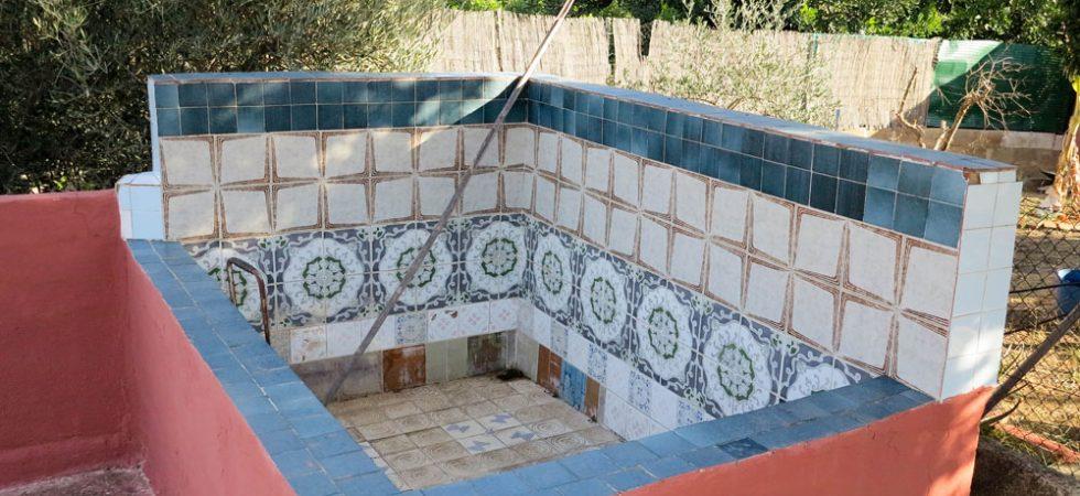 2m x 1.5m Children's swimming pool