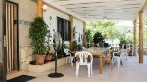 Covered terrace - 42m²
