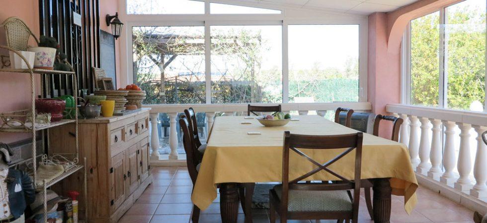 Glazed-in terrace - 30m²