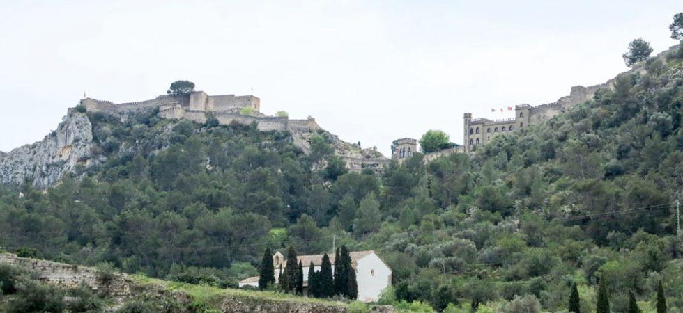 Views of Xàtiva castle