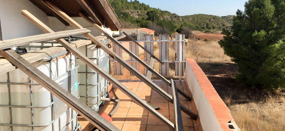 Bedroom 1 terrace - 14m²