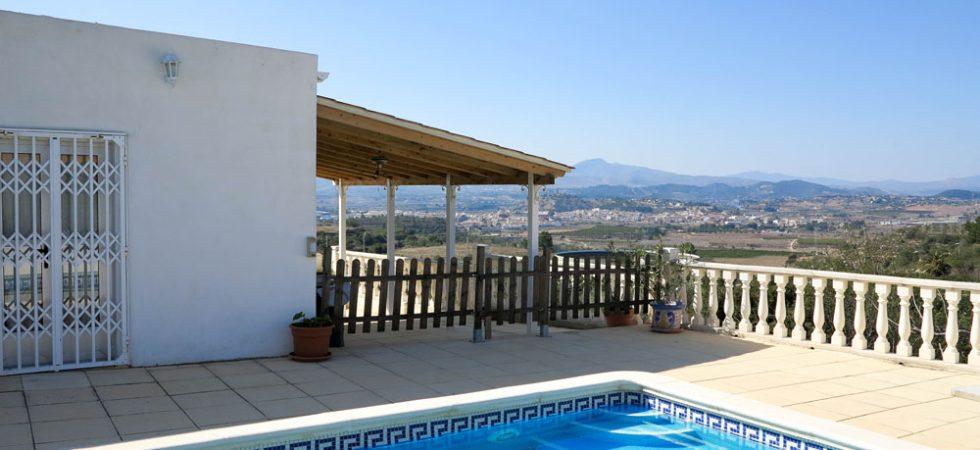 Villa with beautiful views for sale Monserrat Valencia – 018734