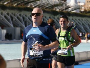 Simon Creed Running in Valencia