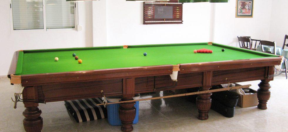 Snooker room - 65m²
