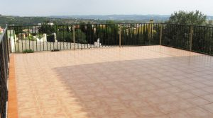 First floor Roof terrace - 70m²