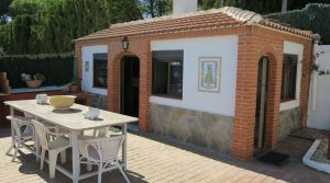 Paella house - 6m² • Utility - 3m²Outside bathroom with shower (not shown)