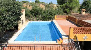 10m x 5m swimming pool