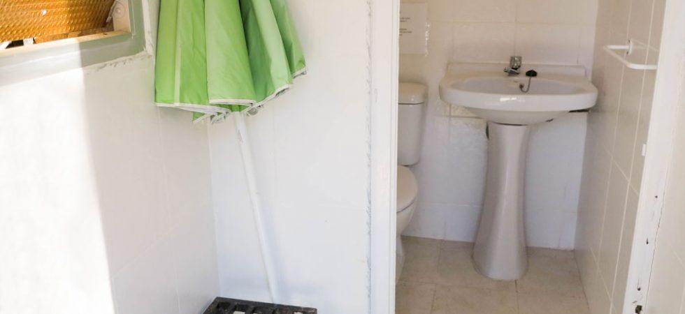 Outside bathroom - 5m²