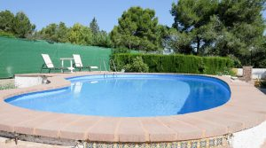 9m x 4m swimming pool