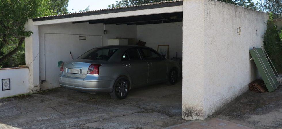 Double carport - 29m²