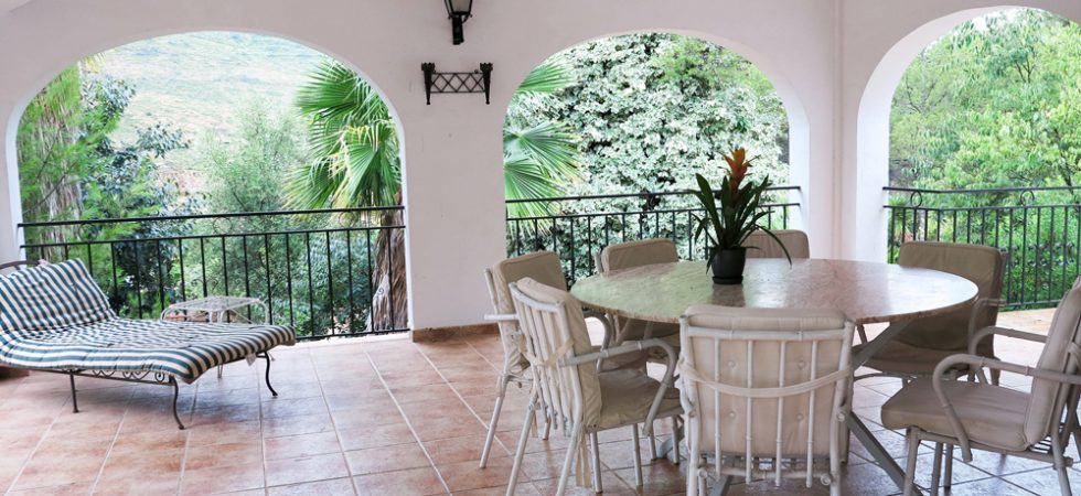 Covered terrace - 49m²