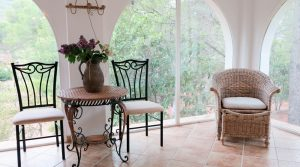Glazed-in terrace - 17m²