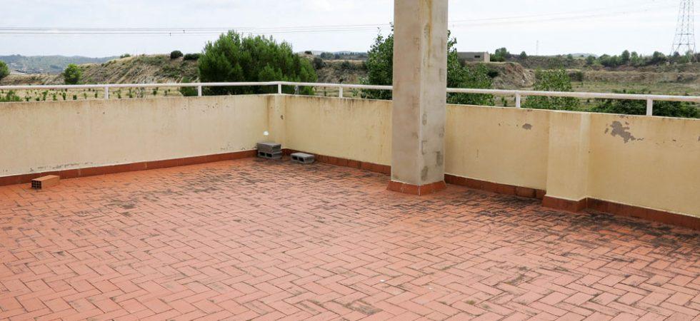 Roof terrace - 77m²