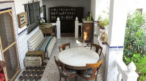 Covered terreace - 36m²