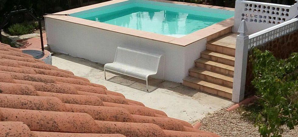 5m x 4m swimming pool