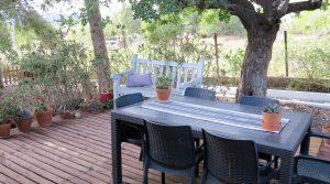 Lounge decked terrace - 20m²