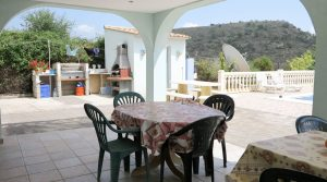 Covered terrace - 28m²