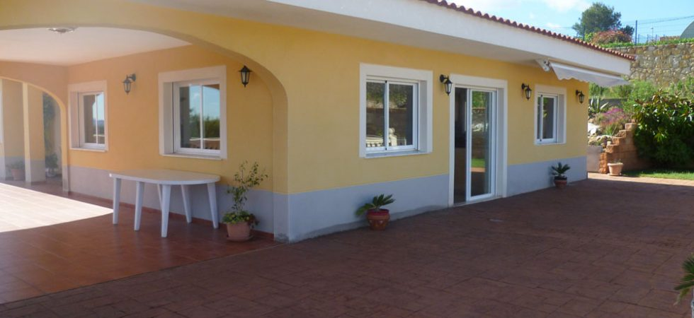 Covered / open terrace - 72m²