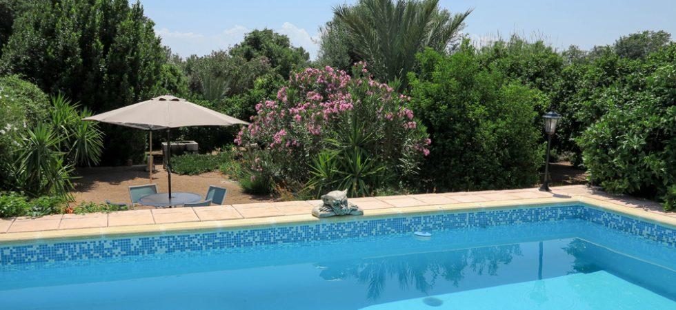 8m x 4m swimming pool