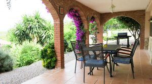 Ground Floor Covered terrace - 33m²