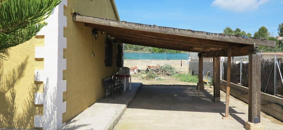 Side terrace - 40m²