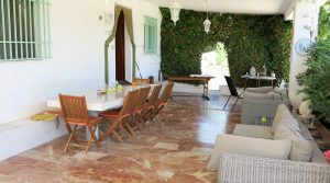 Covered terrace - 65m²