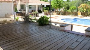 Covered terrace - 40m²